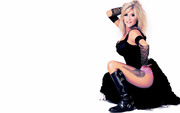 Sam Fox & Linda Lusardi (Ex-Page 3 Girls) : Hot Wallpapers x 3