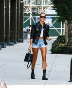 Hailey Baldwin - Out in NYC 7/28/18