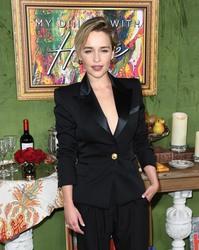 Emilia Clarke - My Dinner with Herve, premiere, LA 10/4/2018
