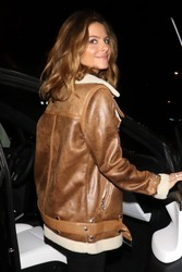 Maria Menounos - Leaving Craig's in West Hollywood 1/19/19