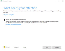 Question - windows 10 home no csm after disable secure boot  cannot