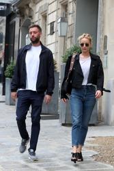 Jennifer Lawrence - Out in Paris 8/9/18