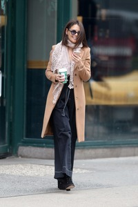 Katie Holmes - Out in NYC 12/26/17