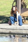 Selena Gomez at Lake Balboa park in Encino 02/02/2018c01733737641033