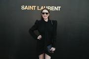 Lindsay Lohan - Saint Laurent Fashion Show in Paris 9/25/2018 7621fc985772394