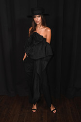 Emily Ratajkowski - Marc Jacobs Fashion Show in NYC 9/12/18