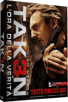 Taken 3 - L'ora della verità (2015) [Theatrical - Uncut] DVD9 Copia 1:1 ITA SPA ENG