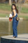 Selena Gomez at Lake Balboa park in Encino 02/02/2018da4912737639623