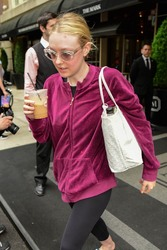 Dakota Fanning - Out in NYC 5/4/18