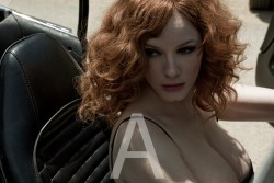 Christina Hendricks - Sheryl Nields Photoshoot For Esquire Magazine's May 2010 Issue