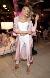Josephine Skriver & Romee Strijd - Ultimate Girls Night In' hosted by Victoria's Secret in Beverly Hills 2/6/18