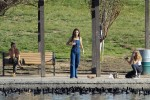 Selena Gomez at Lake Balboa park in Encino 02/02/2018dfb851737644503