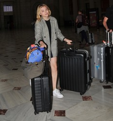 Chloe Grace Moretz - Arriving in Washington, D.C. 8/5/18