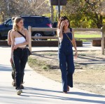 Selena Gomez at Lake Balboa park in Encino 02/02/2018d7ca48737641153