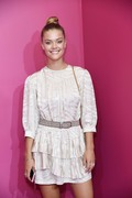 Nina Agdal - A Human Experience Exhibit in NYC 9/4/18