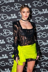 Delilah Belle Hamlin - P.S x Danielle launch by Danielle Priano in NYC 2/11/19