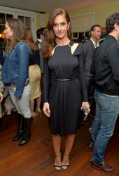 Minka Kelly at the Vanity Fair and Juicy Couture Celebration of the 2013 Vanities Calendar in Los Angeles - February 18, 2013