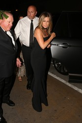 Jennifer Aniston - Arriving at Gwyneth Paltrows Party in LA 4/14/18