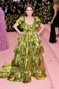 Julianne Moore  -                  2019 Met Gala Celebrating Camp: Notes on Fashion New York City May 6th 2019.