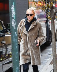 Sophie Turner - Out in NYC 12/17/18
