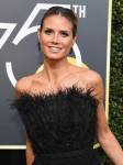 Heidi Klum - The 75th Annual Golden Globe Awards in Beverly Hills (1/7/18)