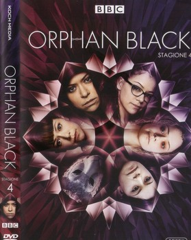 Orphan Black - Stagione 4 (2013 - 2017) 3xDVD9 COPIA 1:1 ITA ENG