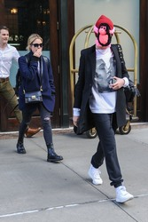 Ashley Benson & Cara Delevingne - Leaving their hotel in NYC 10/19/18