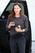 Jennifer Garner - Leaving the gym in West Hollywood 4/7/18