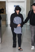 Demi Lovato - At Charles de Gaulle Airport 6/3/18