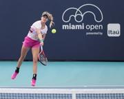 Eugenie Bouchard -           Miami Open Tennis Tournament Practice March 16th 2019.