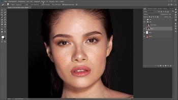 Алгоритм ретуши портрета (2018) Видеокурс