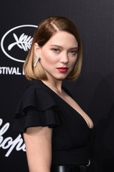 Lea Seydoux - Official Trophee Chopard Dinner Photocall in Cannes 05/20/2019