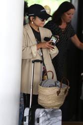 Vanessa Hudgens - At LAX Airport 7/25/18