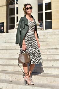Mandy Moore - Fendi Couture Fashion Show in Paris 7/4/18