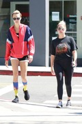 Ashley Benson & Cara Delevingne - Leaving a spa in West Hollywood 8/7/18