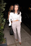 Kourtney Kardashian - Out for dinner in Beverly Hills 8/29/18