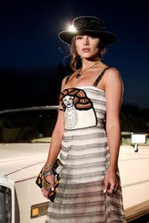 Olivia Culpo - Dior Sauvage Eau de Parfum Launch in Pioneertown, CA 4/12/18