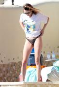 Behati Prinsloo - Bikini candids in Los Cabos 1/8/19