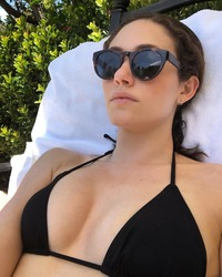 Emmy Rossum in a Bikini - 6/15/18 Instagram