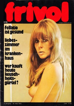 Frivol № 7,8,9 1972 [All Sex] [1972, Германия, JPG]