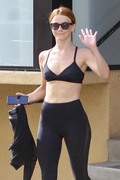 Julianne Hough - Leaving the gym in Studio City 7/17/18