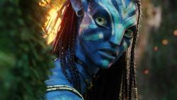 Аватар / Avatar (Сэм Уортингтон, Зои Салдана, Сигурни Уивер, 2009) 2b3ed71091452434