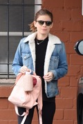 Kate Mara - Leaving a dance class in Beverly Hills 1/15/19