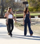 Selena Gomez at Lake Balboa park in Encino 02/02/2018e6a36c737641663