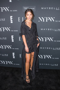 Demi-Leigh Nel-Peters - E!, ELLE & IMG celebrate the Kick-Off To NYFW in NYC 9/5/18