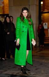 Lake Bell -             Giorgio Armani Prive Haute Couture S/S 2018 Show Arrival Paris January 23rd 2018.