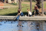 Selena Gomez at Lake Balboa park in Encino 02/02/2018e945a5737644133