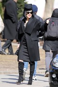 Katheryn Winnick -              ''Polar'' Set Toronto March 22nd 2018.
