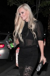 Jenny McCarthy - Out for dinner in LA 6/1/18