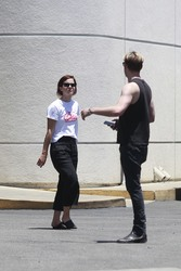 Emma Watson and Chord Overstreet Shopping For Trailers in Los Angeles - 6/19/18